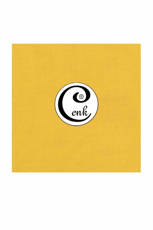 CENK - Cenk Dikişsiz Düz Yazma 90 cm | Açık Sarı