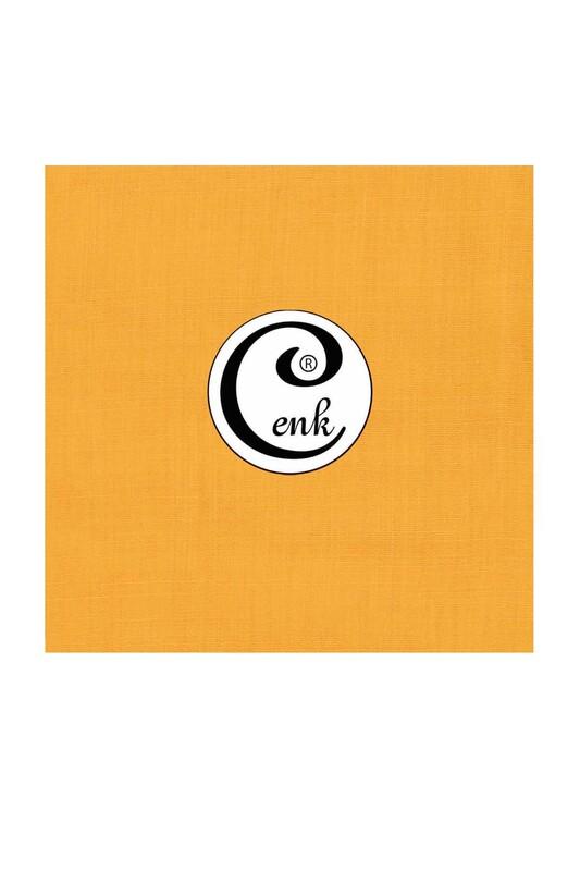 CENK - Cenk Dikişsiz Düz Yazma 90 cm | Sarı
