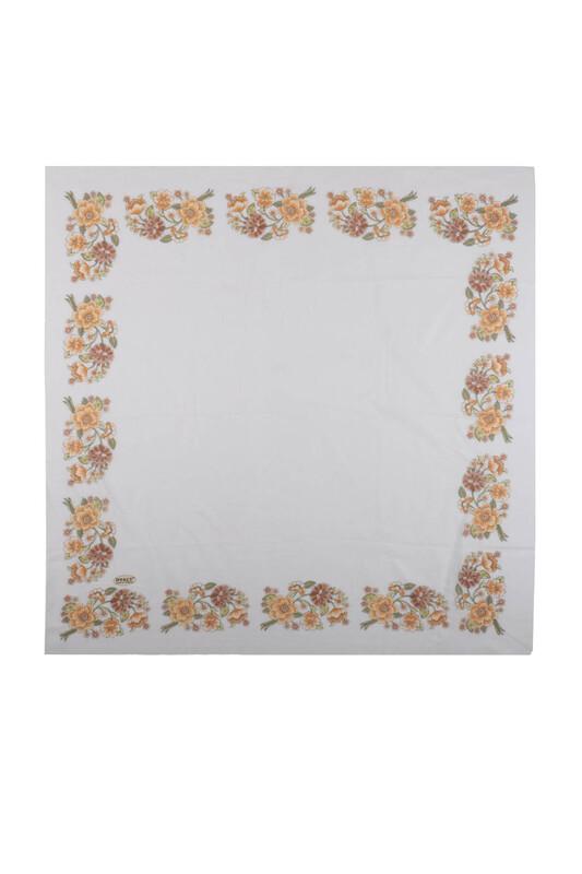 İPEKÇE - İpekçe Çiçek Desenli Yazma 90 cm | 031