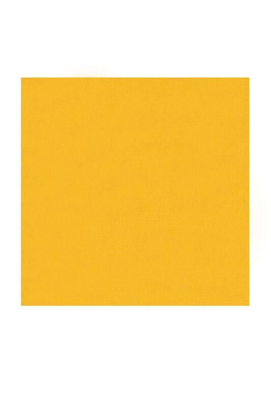KAŞMİR - Kaşmir Dikişsiz Düz Yazma 90 cm Sarı 23