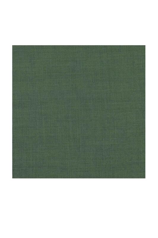 Payidar İpek - Payidar İpek Dikişsiz Düz Yazma 100 cm   Yosun Yeşili 356