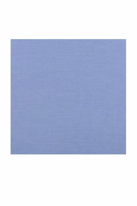 Payidar İpek - Payidar İpek Dikişsiz Düz Yazma 100 cm | Bebe Mavi