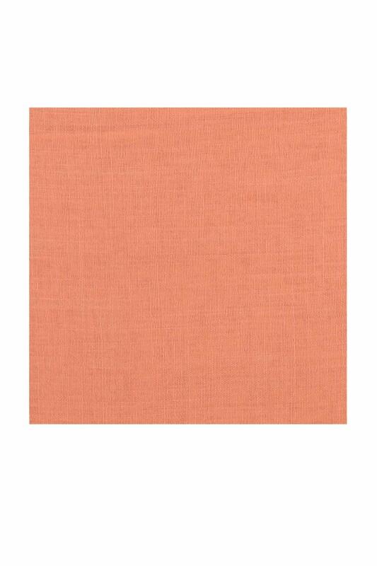 Payidar İpek - Payidar İpek Dikişsiz Düz Yazma 100 cm | Yavruağzı 415