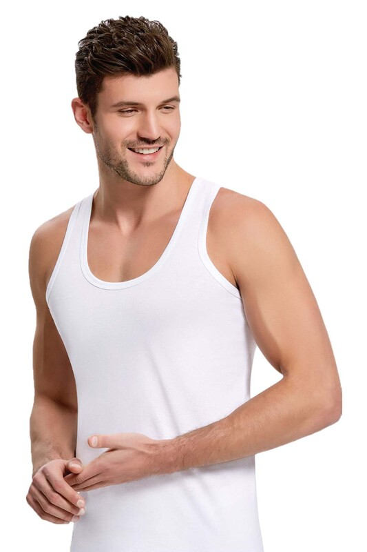 BERRAK - Berrak 1001 Erkek Atlet | Beyaz