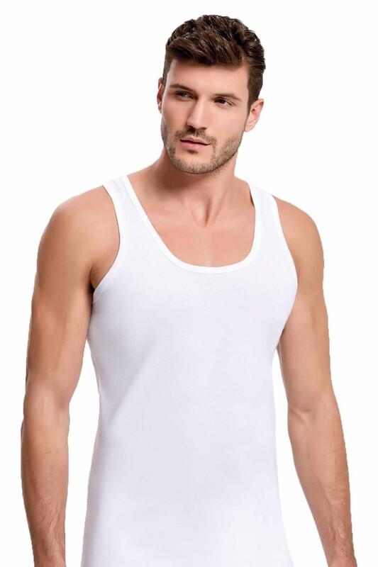 İLKE - İlke Ribana Atlet 118 | Beyaz