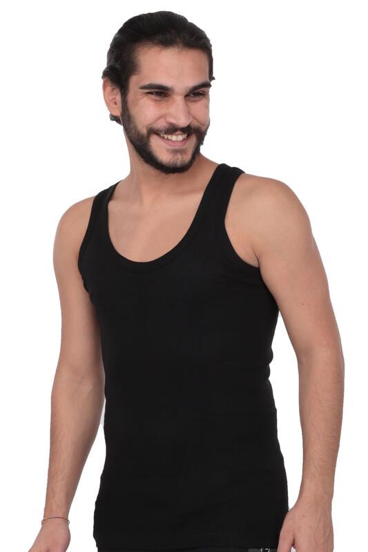 TUTKU - Tutku Erkek Ribana Atlet 102 3'lü Paket | Siyah