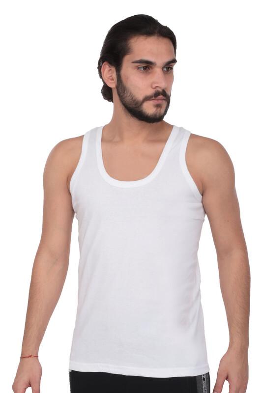 TUTKU - Tutku Erkek Ribana Atlet 102 3'lü Paket | Beyaz