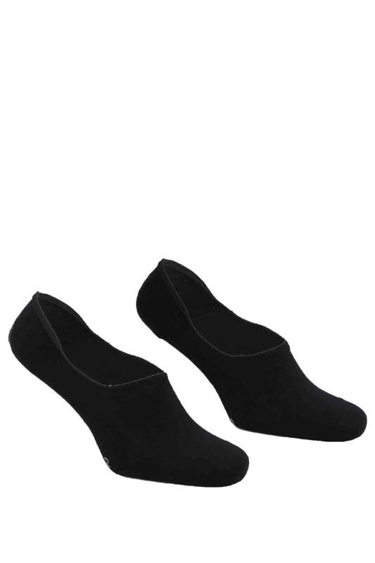 DÜNDAR - Dündar Plus Penye Erkek Babet Çorap | Siyah