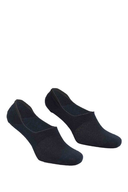 DÜNDAR - Dündar Plus Penye Erkek Babet Çorap | Lacivert