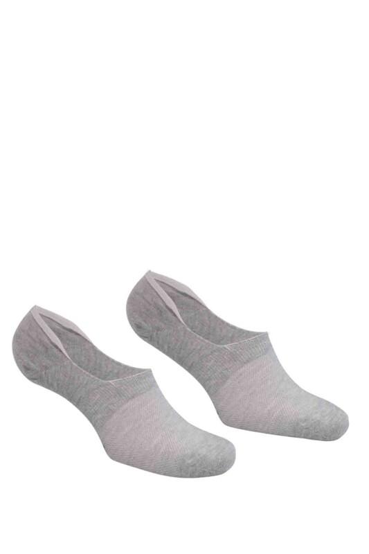 DÜNDAR - Dündar Plus Penye Erkek Babet Çorap | Gri