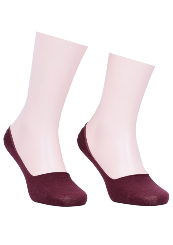 JİBER - Jiber Babet Çorap 7100 | Bordo