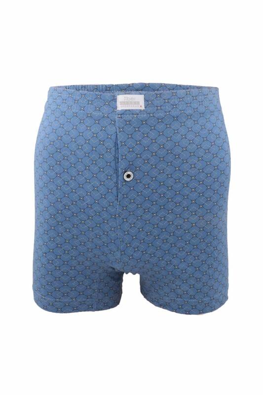JİBER - Jiber Penye Boxer 131   Mavi