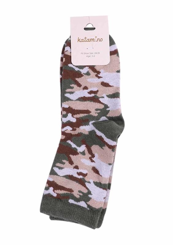 KATAMİNO - Katamino Çorap 872 | Yeşil
