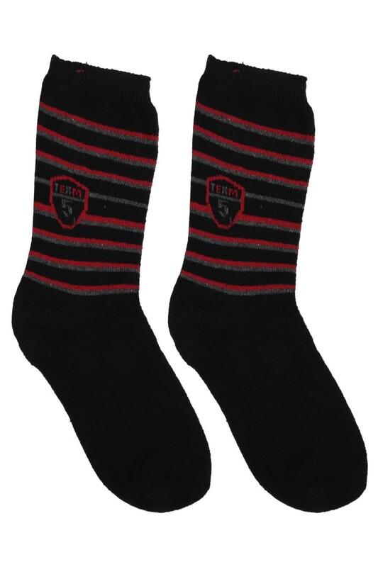 ÜÇ-EL - Erkek Çocuk Çorap 53 | Siyah