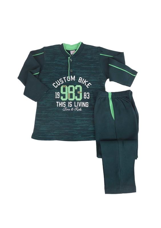 SİMİSSO - Simisso Pijama Takımı 983   Yeşil