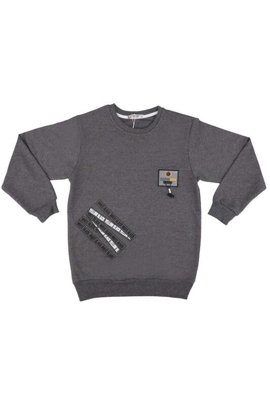 Tanem - Fashion Armalı Erkek Çocuk Sweatshirt | Füme