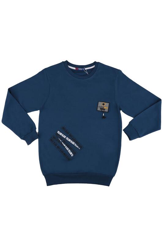 Tanem - Fashion Armalı Erkek Çocuk Sweatshirt | Lacivert