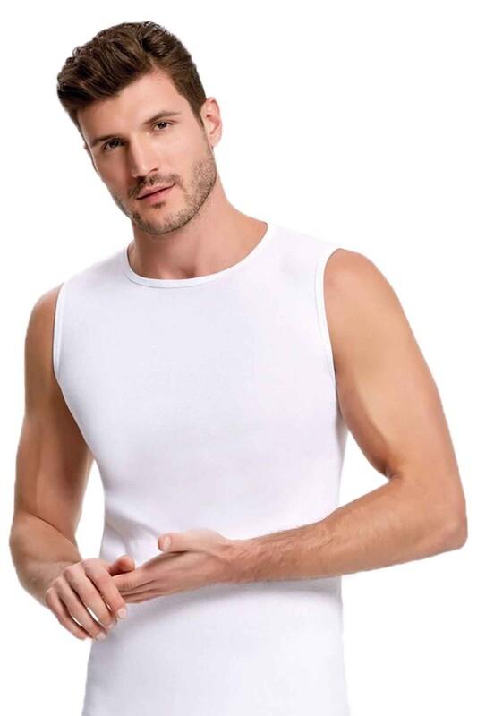 İLKE - İlke Ribana Atlet 1006 | Beyaz