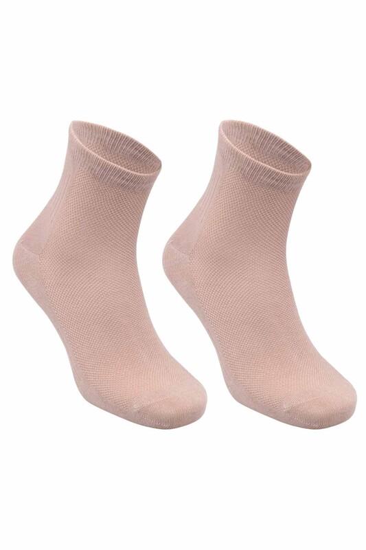AKSU - Aksu Dikişsiz Bambu Erkek Çorap | Bej