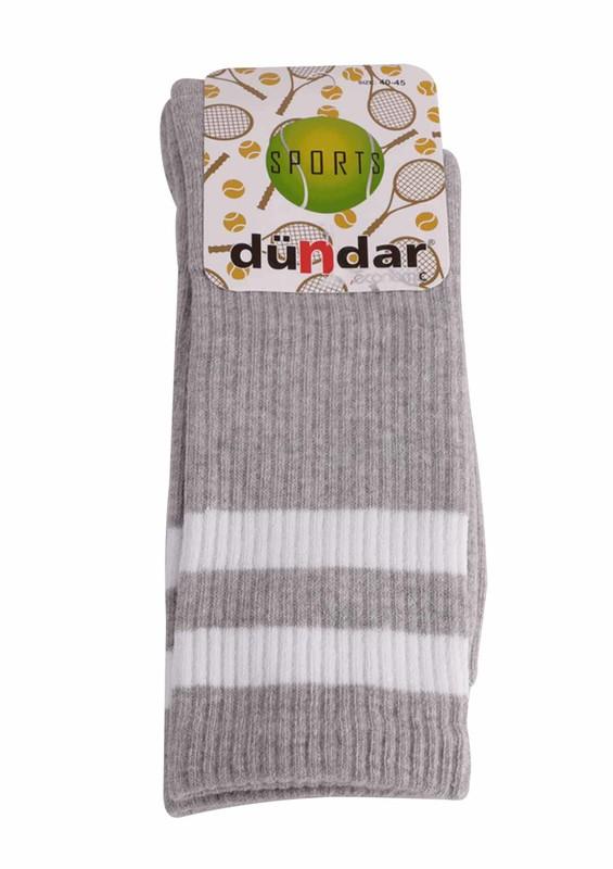 DÜNDAR - Dündar 4001 Tenis Çorabı | Gri