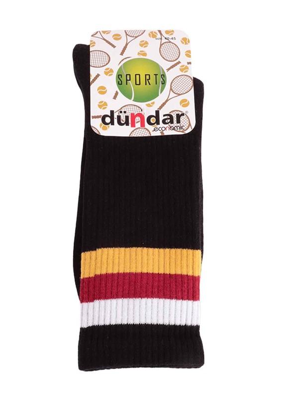 DÜNDAR - Dündar 4001 Tenis Çorabı   Sarı