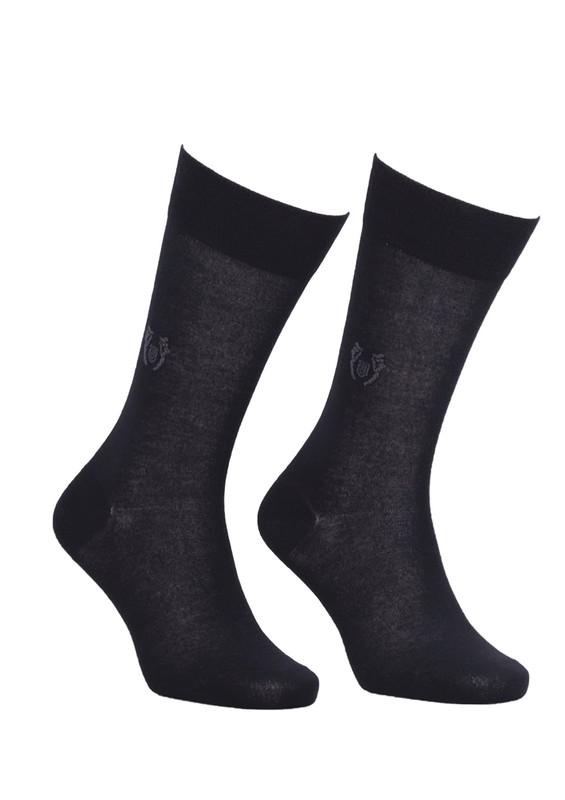 JİBER - Jiber Modal Çorap 5107 | Siyah