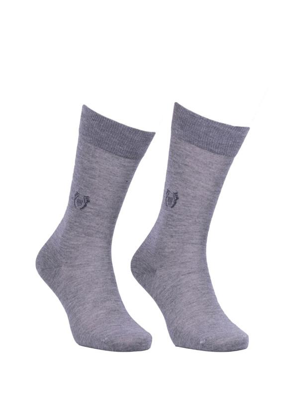 JİBER - Jiber Modal Çorap 5107 | Gri