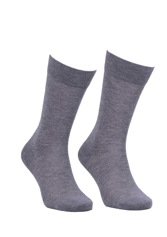 JİBER - Jiber Modal Çorap 5100 | Gri
