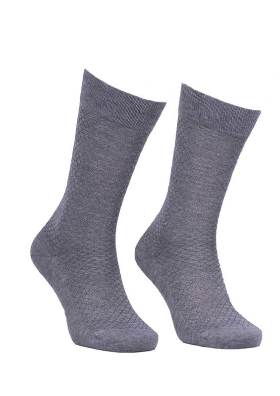 JİBER - Jiber Bambu Çorap 5502 | Gri
