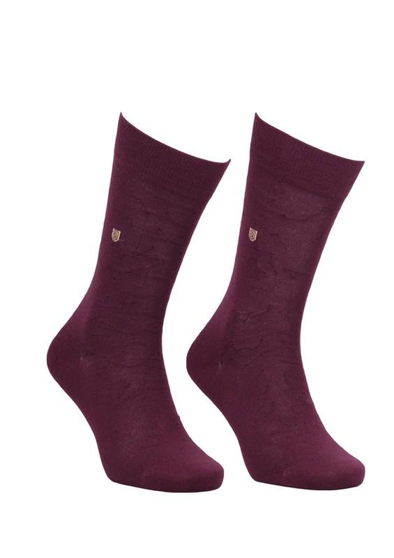 JİBER - Jiber Modal Çorap 5108 | Bordo