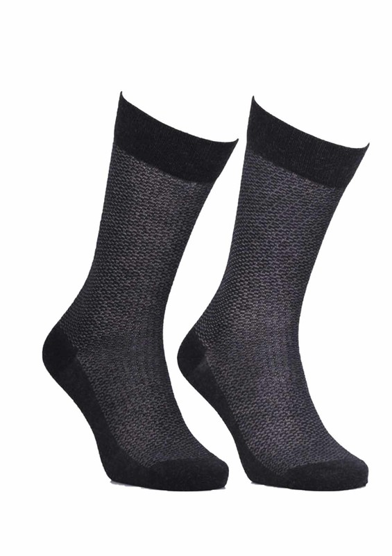 JİBER - Jiber Bambu Çorap 5501   Antrasit