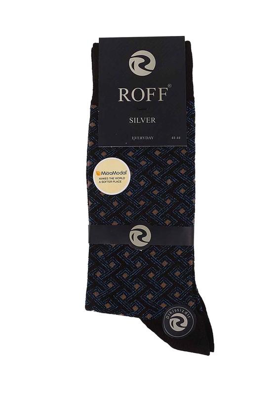 ROFF - Roff Modal Çorap 15008 | Kahverengi