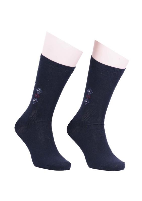 SİMİSSO - Simisso Erkek Likralı Çorap 912