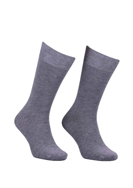 SİMİSSO - Erkek Bambu Çorap 103   Gri