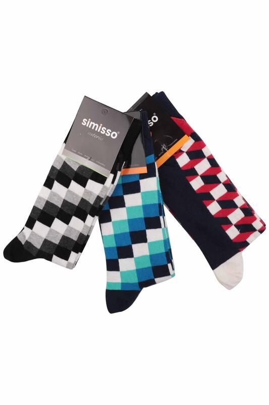 SİMİSSO - Simisso Renkli Çorap Seti 3'lü   Set 17