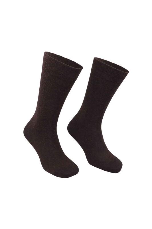 PİERRE CARDİN - Pierre Cardin Bambu Yün Erkek Çorap 650 | Kahverengi