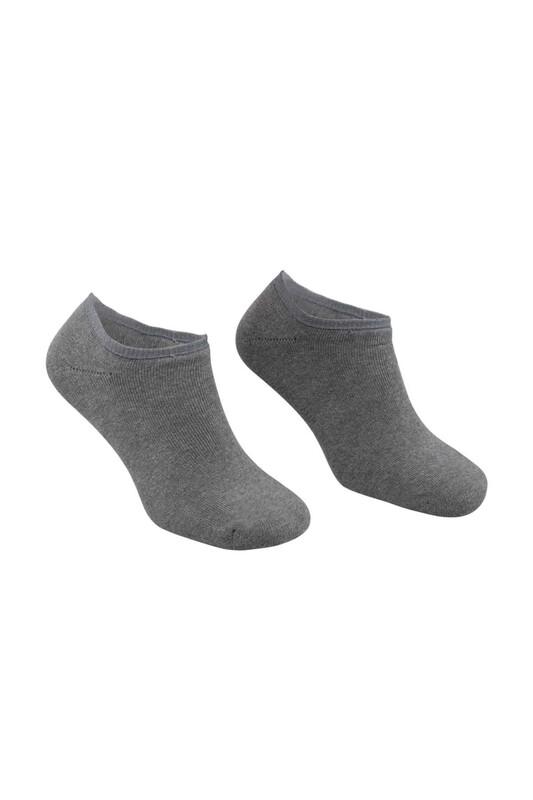 PİERRE CARDİN - Pierre Cardin Erkek Havlu Patik Çorap 4300 | Gri