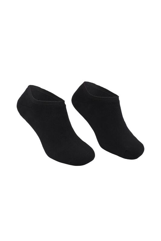 PİERRE CARDİN - Pierre Cardin Erkek Havlu Patik Çorap 4300 | Siyah