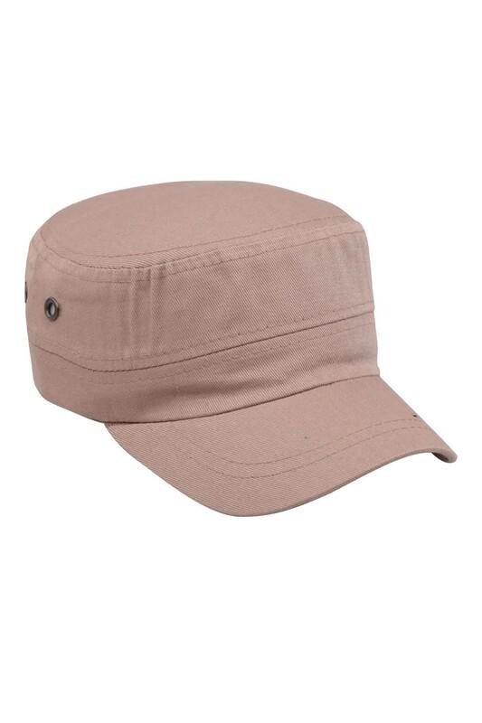 POYRAZ - Erkek Düz Kastro Şapka Bej