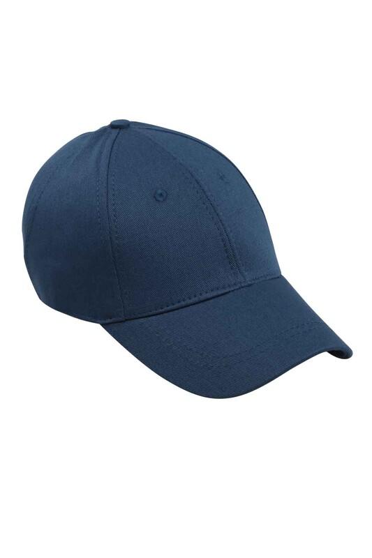 SİMİSSO - Erkek Evalı Delikli Şapka Lacivert