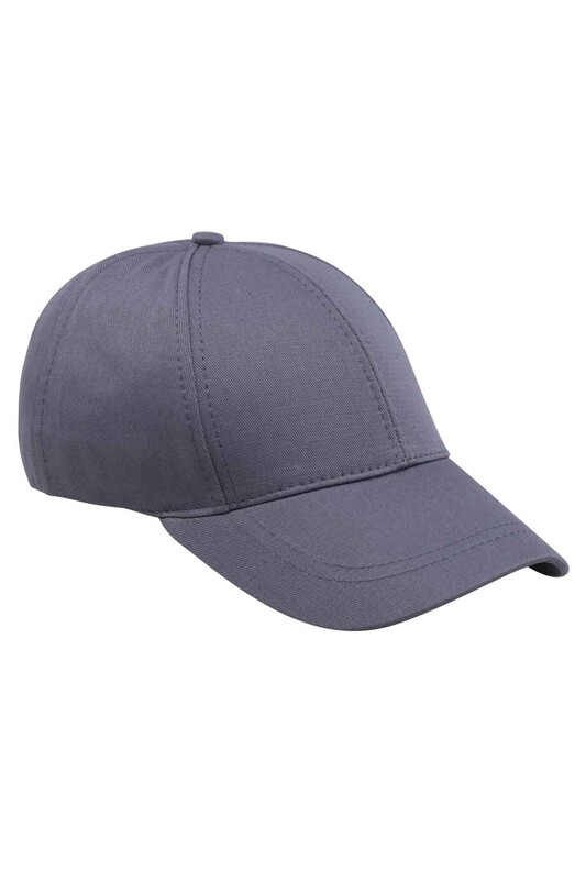 SİMİSSO - Erkek Evalı Şapka Antrasit