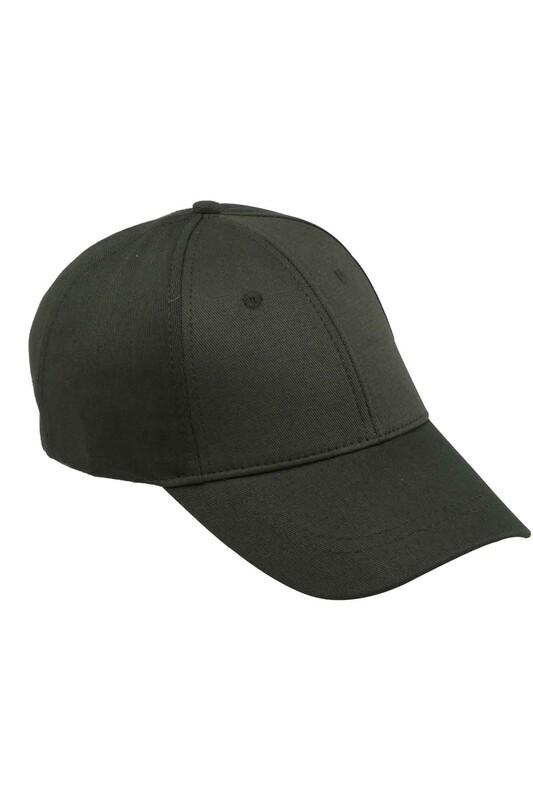SİMİSSO - Erkek Evalı Delikli Şapka Yeşil