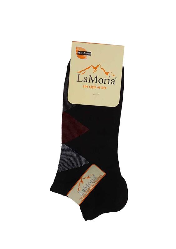LA MORİA - La Moria Dikişsiz Soket Çorap 312   Siyah