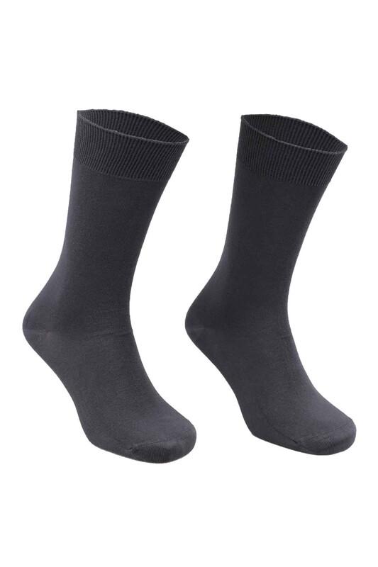 SAHAB - Sahab Bambu Erkek Çorap 7001 | Füme