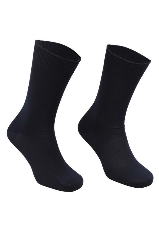 SAHAB - Sahab Bambu Erkek Çorap 7001 | Lacivert