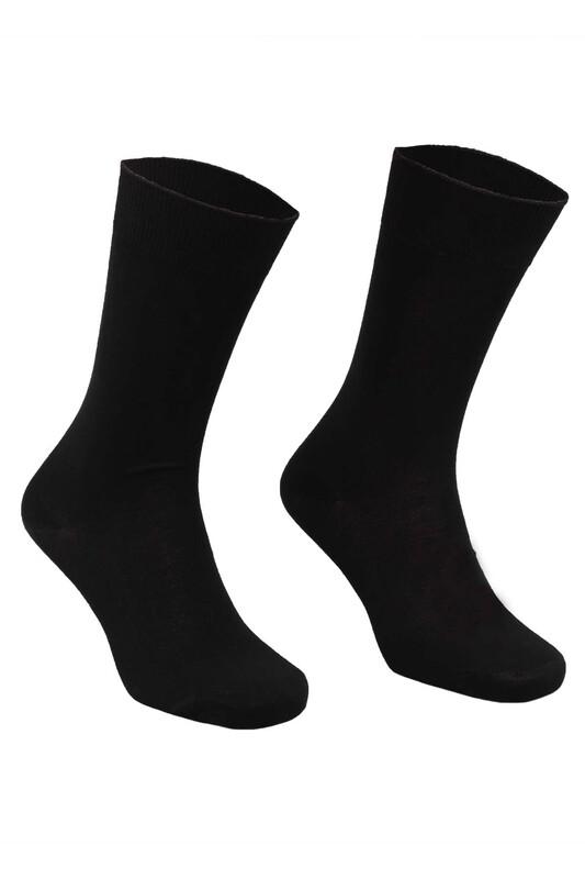 SAHAB - Sahab Bambu Erkek Çorap 7001 | Siyah