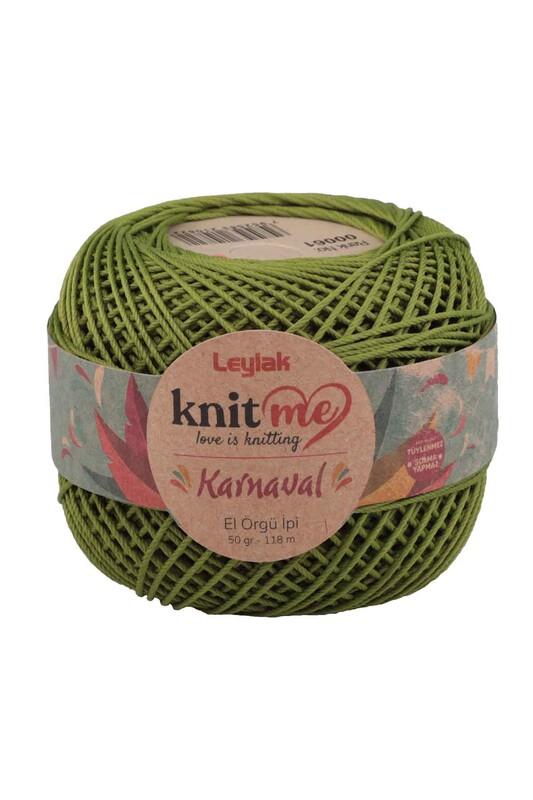 LEYLAK - Knit me Karnaval El Örgü İpi Yeşil 00061 50 gr.