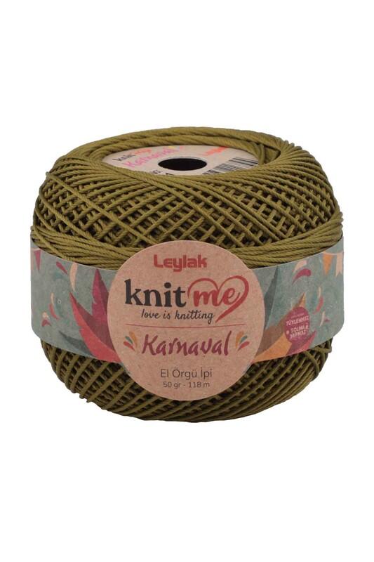 LEYLAK - Knit me Karnaval El Örgü İpi Yeşil 03411 50 gr.