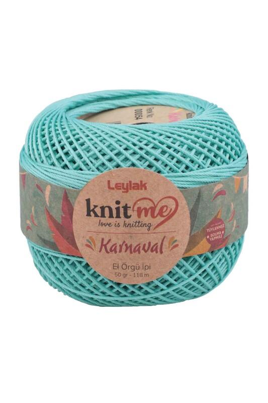 LEYLAK - Knit me Karnaval El Örgü İpi Yeşil 00054 50 gr.