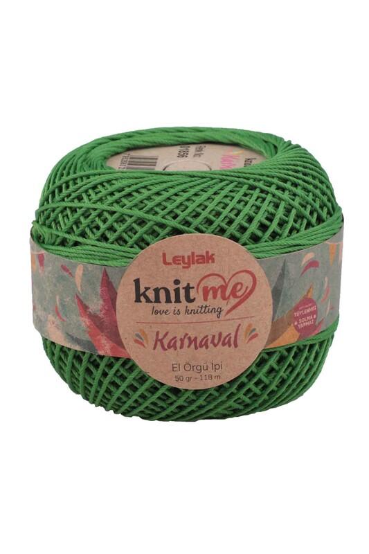 LEYLAK - Knit me Karnaval El Örgü İpi Yeşil 01856 50 gr.
